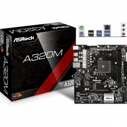 A320M U-ATX DDR4 SATA3 M.2 USB3.0 AM4