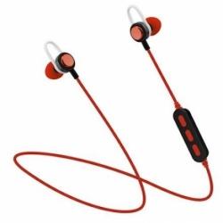 CUFFIA BLUETOOTH IN-EAR PHONE E MICROFONO RED