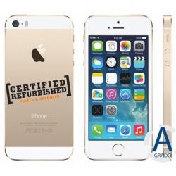 IPHONE 5S 32GB GOLD ITA GAR@6MESI REFURBISHED CON SCATOLA E ACCESSORI OEM GRADO A